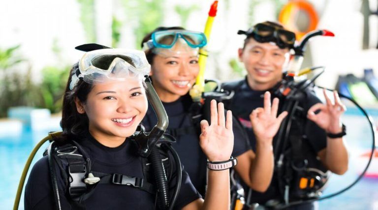 Scuba Divers, Recreational