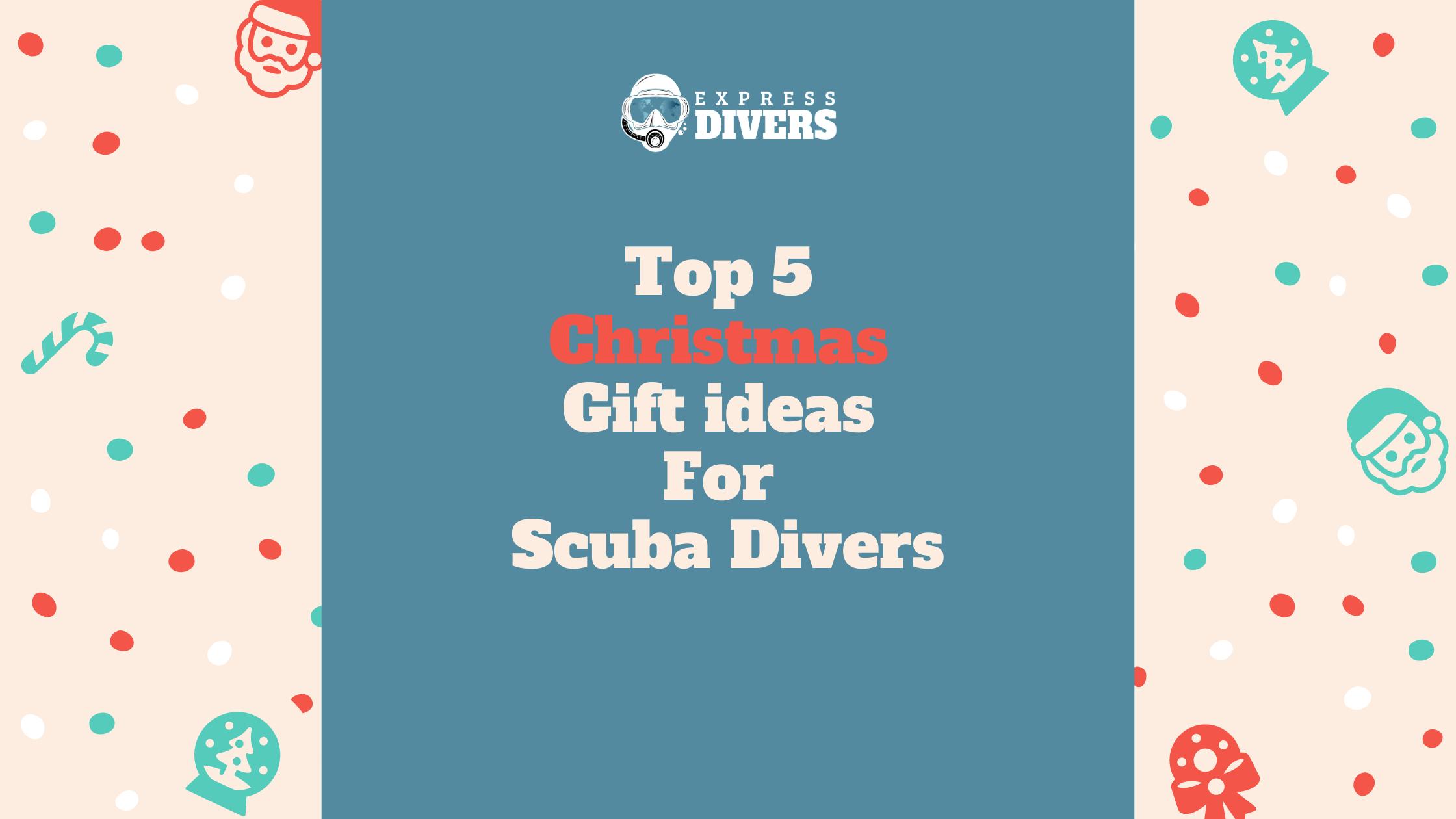 Christmas, Scuba Divers, Scuba Diving